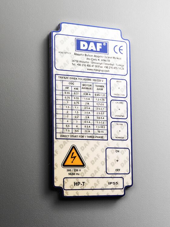 PVC Etiket Leksan Etiket 04