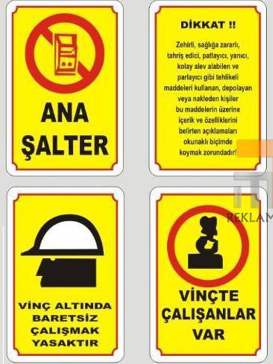 Uyarı ve İkaz Etiketleri 02