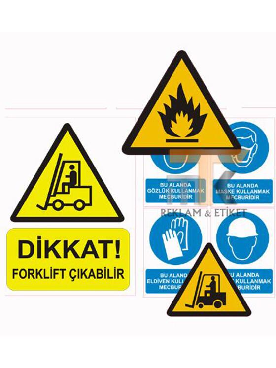 Uyarı ve İkaz Etiketleri 04