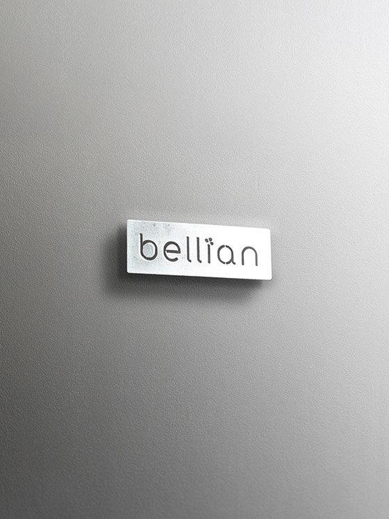 Thin Cut Metal Etiket
