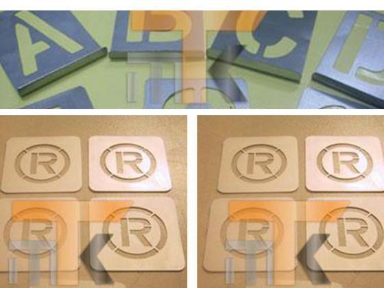Metal Şablon Etiket